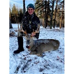 Michigan – 3 Day/2 nights – Management Whitetail Deer Hunt for One Hunter and One Non-hunter