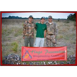 Cordoba Dove Hunt for Four Hunters