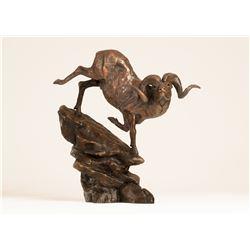 Marco Polo Bronze Sculpture