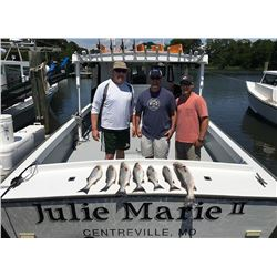 Two-Day Chesapeake Bay Fishing Trip for Six