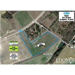 APPROX. 15 SUPER PRIME ACRES WITH  FRONTAGE ON US 401