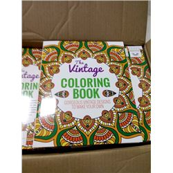 NEW VINTAGE COLORING BOOKS # $12.99 Each