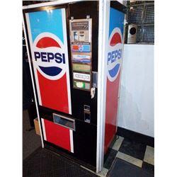 Vintage Pepsi Vending Machine, Runs! Circa 1980s
