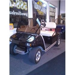 Black Club Car, Completely Refurbished