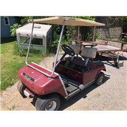 Club Car Electric Parts Cart (No Batteries)