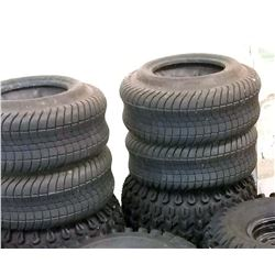 Set of 4 Golf Cart Tires without Rims, Like-new