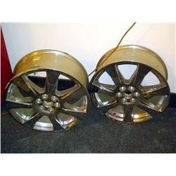 Pair of Mag Wheels