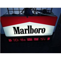 Marlboro Electric Light Up Sign, Works
