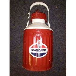 Vintage Standard Oil 5 Gallon Embossed Can