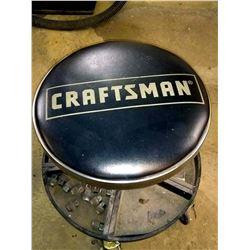 Craftsman Adjustable Mechanics Seat w/ Tray