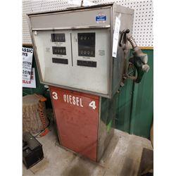 Vintage 1990's Diesel Fuel Pump with Handle