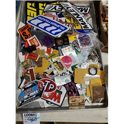 Lot of Vintage Automotive Related Stickers