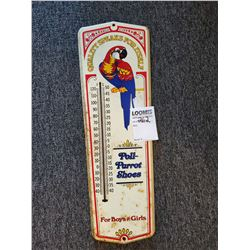 Vintage Poll Parrot Thermometer