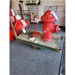 Vintage Feedmill Cart