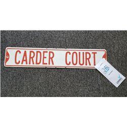 CARDER COURT STREET SIGN