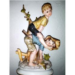 Vintage Ceramic Figurine by Amico Inc., Japan