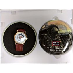 VINTAGE , NEW IN THE BOX VINTAGE LIONEL TRAIN COLLECTORS WATCH