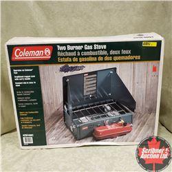 Coleman 2 Burner Gas Stove