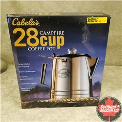 Cabela's 28 Cup Campfire Coffee Pot