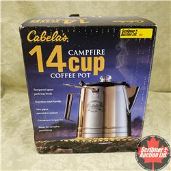 Cabela's 14 Cup Campfire Coffee Pot