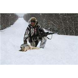 ONTARIO - 6 NIGHTS/5 DAYS TROPHY WOLF HUNT FOR 1 HUNTER