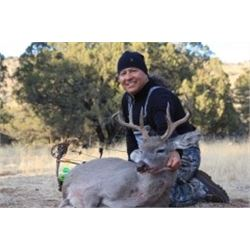 ARIZONA - 5 DAY COUES DEER HUNT FOR 1 HUNTER