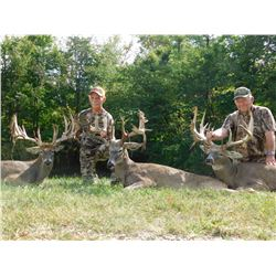OHIO - THREE DAY ESTATE TROPHY WHITETAIL HUNT FOR TWO HUNTERS