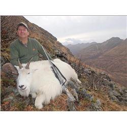 6 Day Kodiak Mountain Goat Hunt for 1 Hunter - $12,000 / Exhibitor