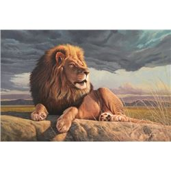"""GICLEE """"IT'S A KINGS LIFE"""" BY TIM SPRANSY $925 / EXHIBITOR"""