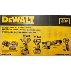 DEWALT 20V MAX 4-TOOL COMBO KIT $1,066