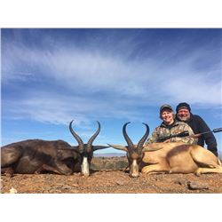 Kudu/Springbok Hunt + Cape Vacation for 2 Couples