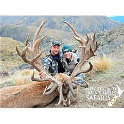 New Zealand 4 Day 5 Night Red Stag & Arapawa Ram Hunt for up to 4 Hunters