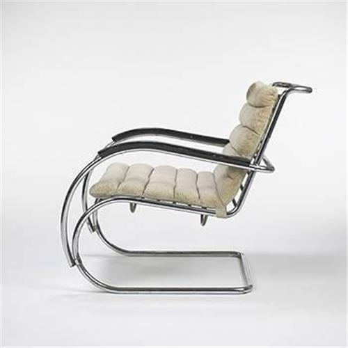 Peachy Ludwig Mies Van Der Rohe Mr 40 Lounge Chair Squirreltailoven Fun Painted Chair Ideas Images Squirreltailovenorg