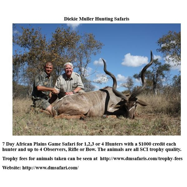 LA21-17 - Dieke Muller - African Plains Game Safari