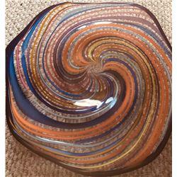 HAND BLOWN GLASS WALL ART
