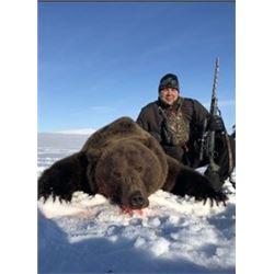 GRIZZLY BEAR HUNT COUNCIL ALASKA SAFARIS – ALASKA