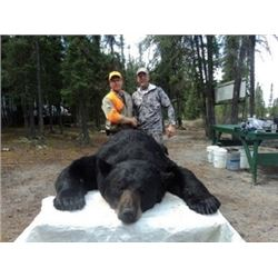 Saskatchewan Holt Lake Lodge Black Bear Hunt