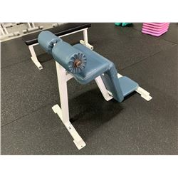 WHITE / BLUE SIT UP BENCH