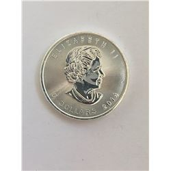 Canadian Maple Leaf 5 Dollar 1  Ounce