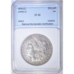 1879-CC MORGAN DOLLAR  NNC XF