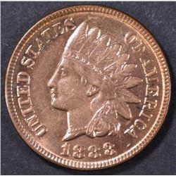1888 INDIAN HEAD CENT  GEM BU   FULL RED