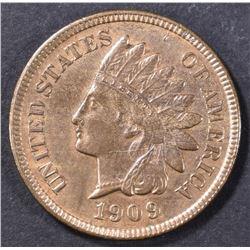 1909-S INDIAN HEAD CENT  CH UNC