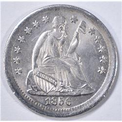 1856 SEATED LIBERTY HALF DIME  GEM BU