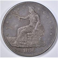 1876-CC TRADE DOLLAR  XF/AU