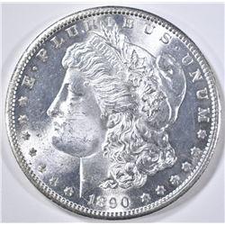 1890-S MORGAN DOLLAR  GEM BU