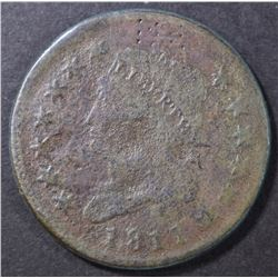 1811 LARGE CENT, GOOD damaged