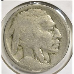 1913-D T-2 BUFFALO NICKEL AG