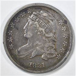 1831 BUST DIME XF