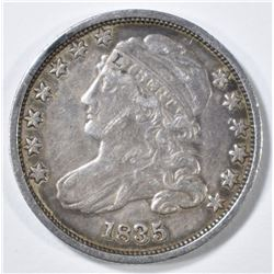 1835 BUST DIME XF