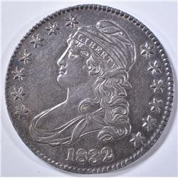 1832 BUST HALF DOLLAR  BU TONED
